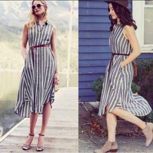 NWOT Holding horses Striped dress / tunic
